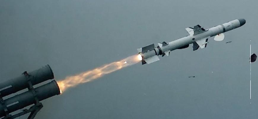 Türkiye'nin ATMACA gemisavar füzesi 220 kilometrede test edildi