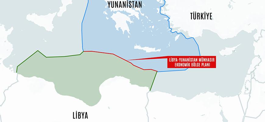 Yunanistan ve Hafter'den Doğu Akdeniz'de 'münhasır ekonomik bölge' planı