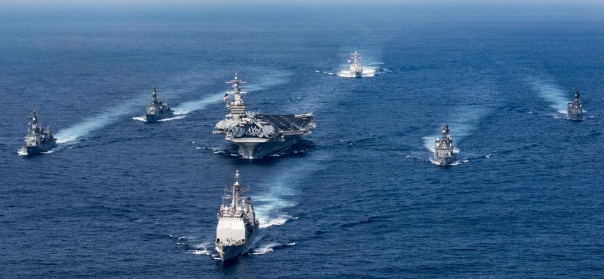 ABD'den Güney Çin Denizi'nde gövde gösterisi