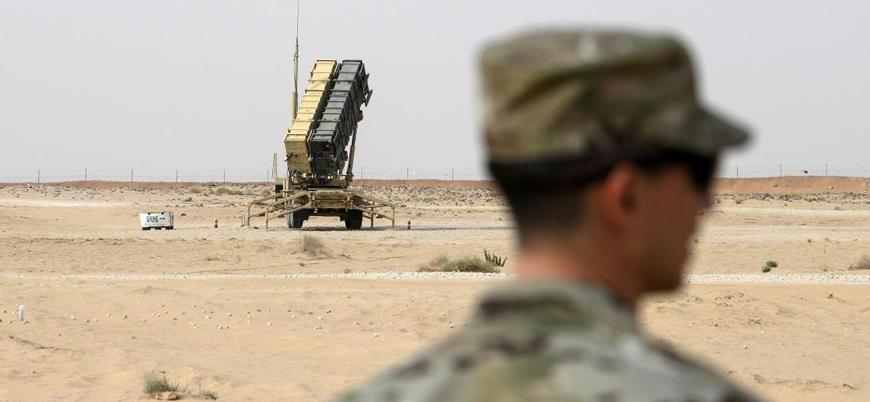 ABD başkent Bağdat'ta Patriot test etti