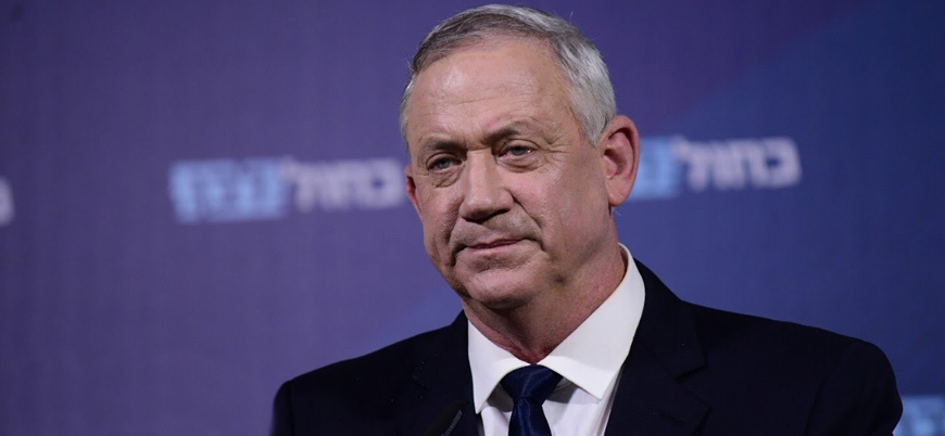 İsrail Savunma Bakanı Gantz: İran'daki her olayın arkasında biz yokuz