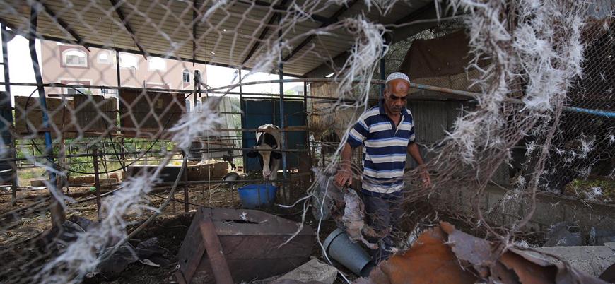 İsrail Gazze'yi hava saldırılarıyla vurdu