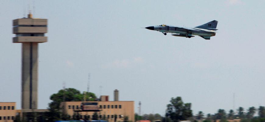 Hafter Vatiyye Hava Üssü'ne yönelik saldırıyı üstlendi