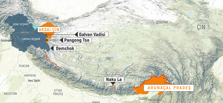 Çin ile Hindistan arasındaki sınır anlaşmazlığı