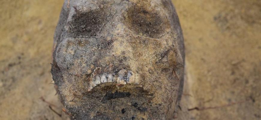 Polonya'da ağzında sikke bulunan onlarca çocuk iskeleti keşfedildi