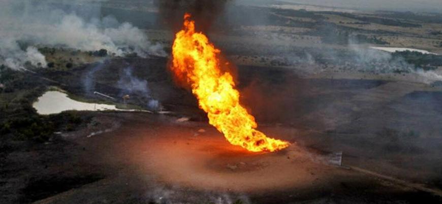 Nijerya'da petrol boru hattında patlama