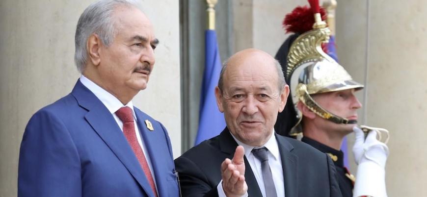 Fransa: Hafter'in IŞİD'le mücadelesini destekliyoruz
