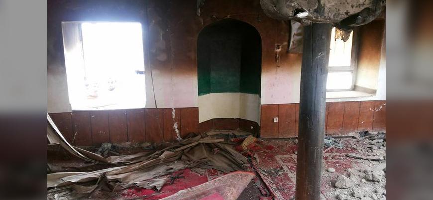 Afganistan'da hükümet güçleri camiyi bombaladı