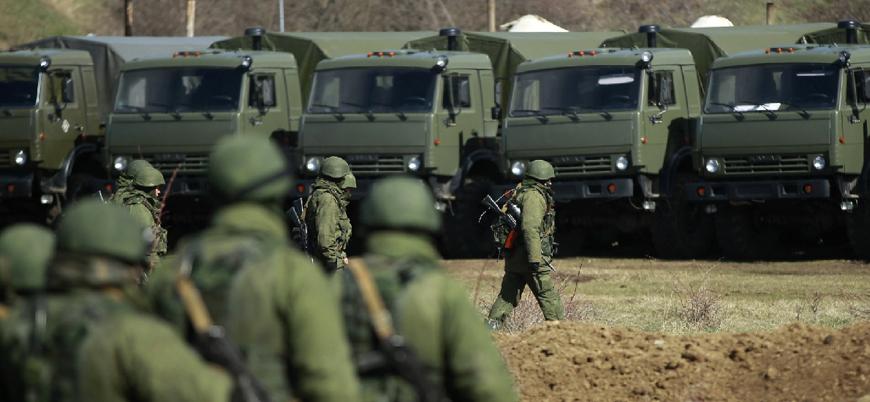 Rus ordusundan Kırım'da askeri tatbikat