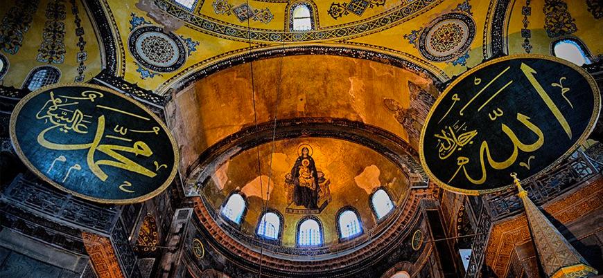 """""""Ayasofya'daki freskler perde ile kapatılacak, ilk namaz 15 Temmuz'da kılınabilir"""""""