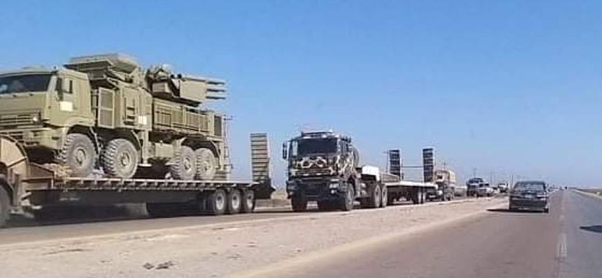 Rusya'dan Sirte'ye askeri sevkiyat