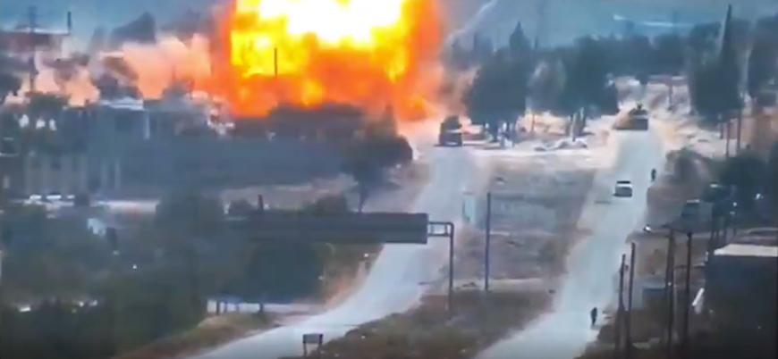 İdlib'de Türk-Rus ortak devriyesine bombalı saldırı