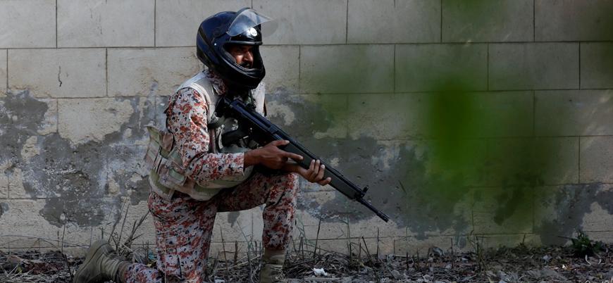 Belucistan'da Pakistan ordusuna saldırı: 8 ölü