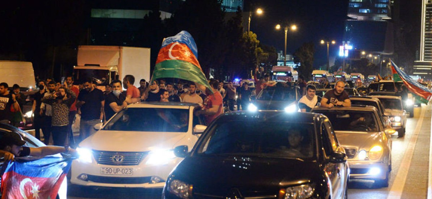 Azerbaycan'da seferberlik talebi: 'Başkomutan bize silah ver'