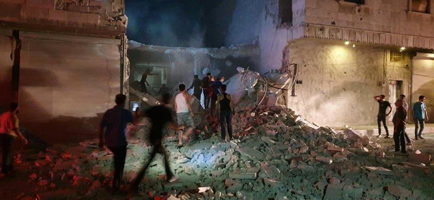 Rus uçakları Türkiye'nin kontrolündeki El Bab kentini vurdu
