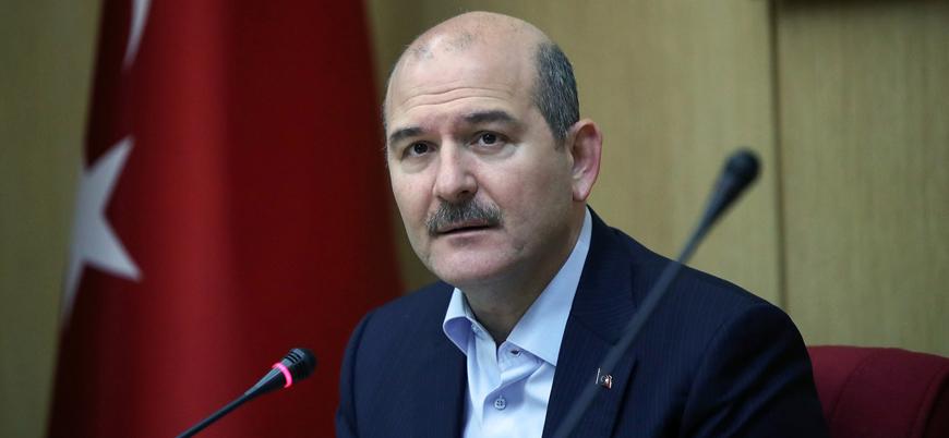 """Bakan Soylu: """"Artos Dağı'na çarpan keşif uçağında 7 emniyet mensubu şehit oldu"""""""