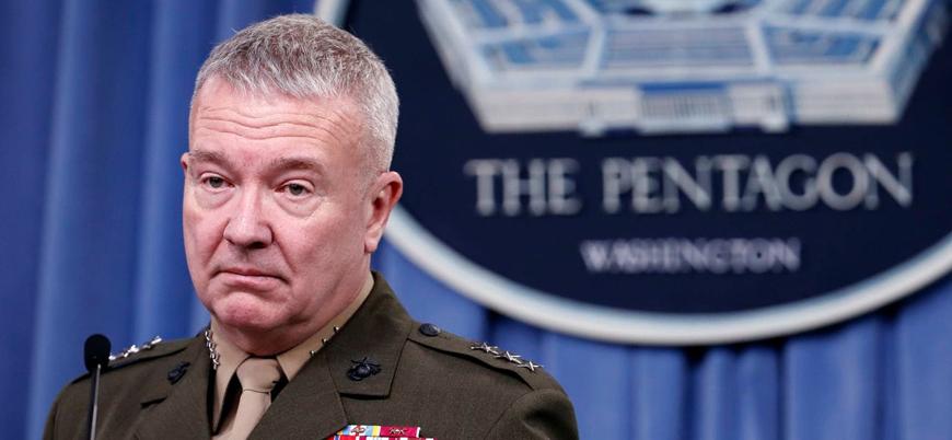 ABD'li komutan McKenzie: Fırat'ın batısında kansız bir gelecek olmayacak