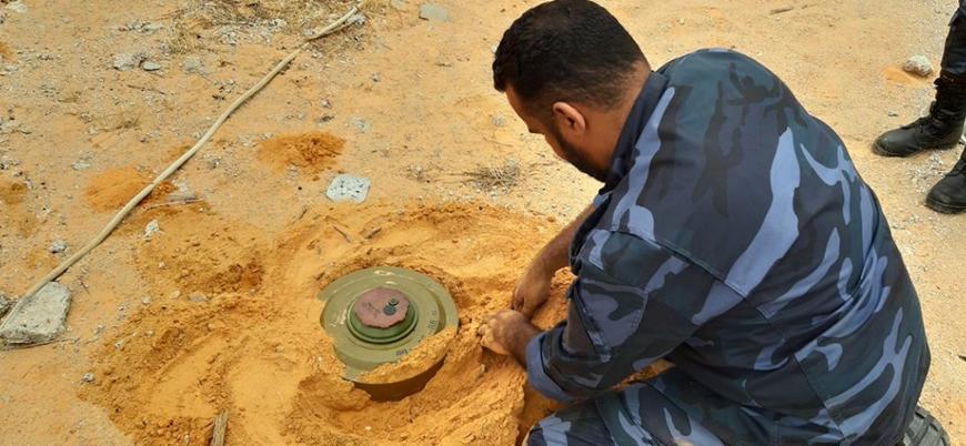 'Rus paralı askerler Libya'da mayın döşüyor'