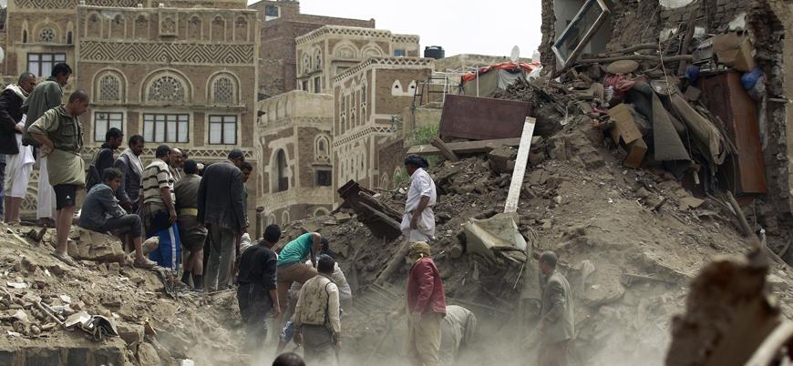 Suudi koalisyonu Yemen'de sivilleri vurdu