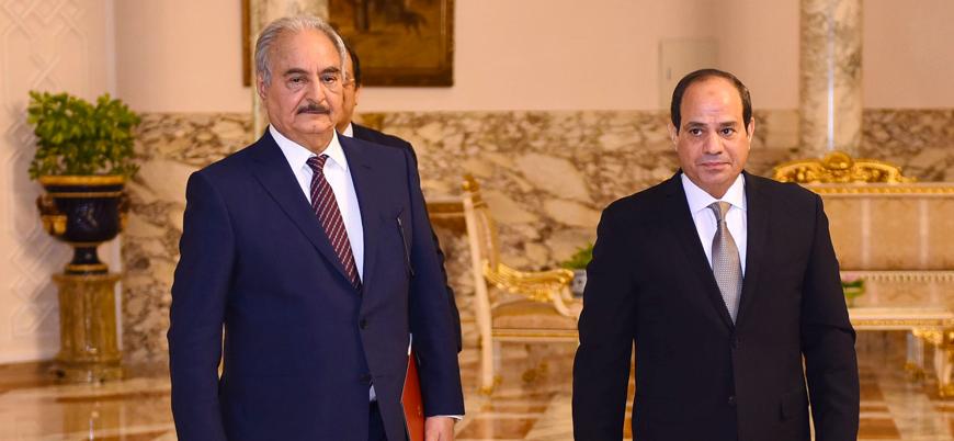 Sisi'den Libya'ya askeri müdahale sinyali