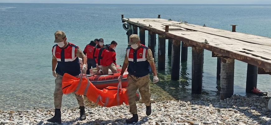 Van Gölü'nde batan göçmen teknesinde can kaybı 45'e yükseldi