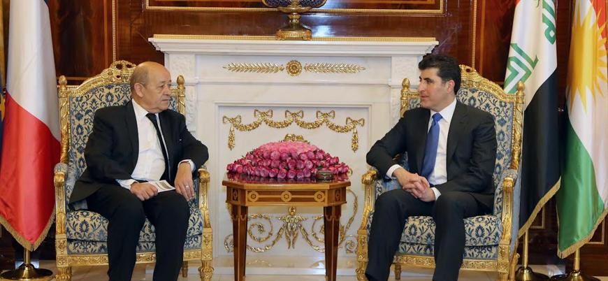 Fransa'dan Irak Kürt Bölgesel Yönetimi'ne destek sözü
