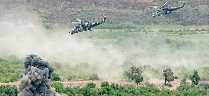 Rusya'dan Azerbaycan-Ermenistan sınırında askeri tatbikat