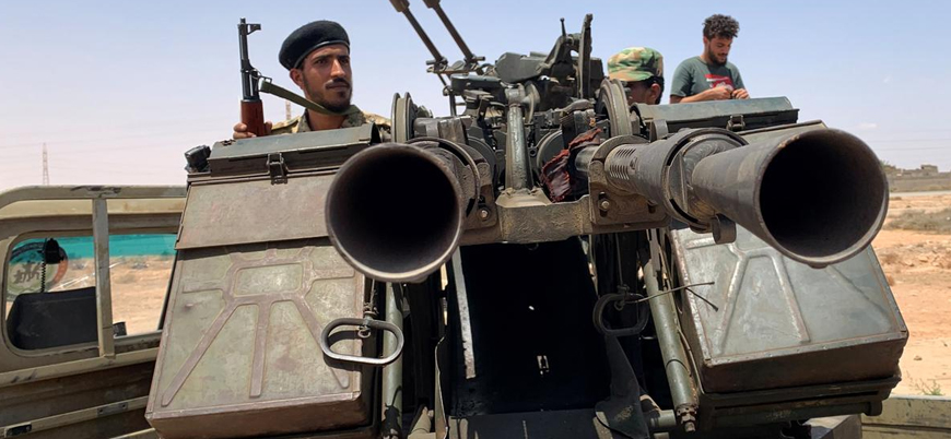 UMH güçlerinden Sirte'ye askeri sevkiyat