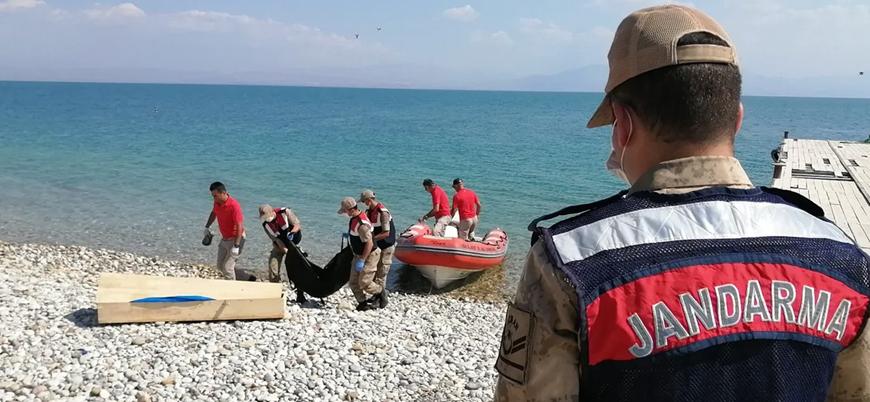 Van Gölü'ndeki göçmen faciasında ölü sayısı 58'e yükseldi