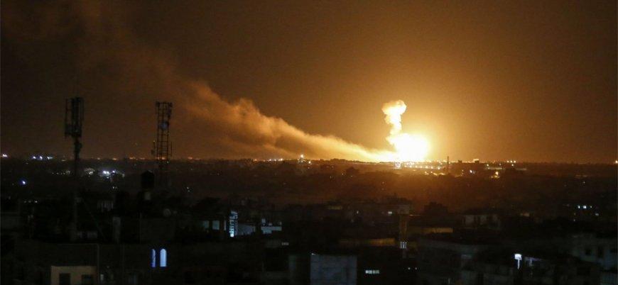 Suriye'deki İran hedeflerine hava saldırıları