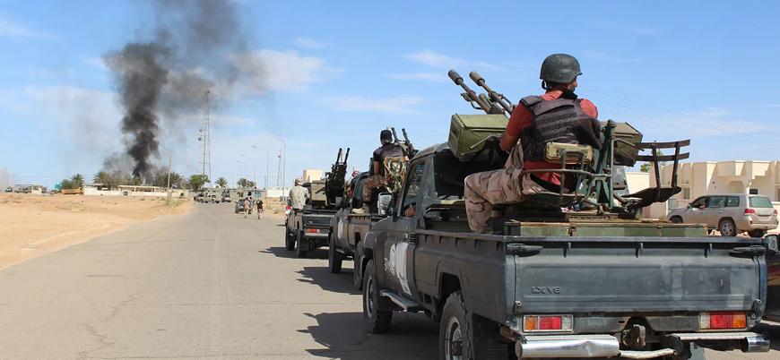 UMH: Hafter Libya'daki ateşkesi ihlal ediyor