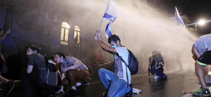 İsrail'de hükümet karşıtı gösterilerde çok sayıda gözaltı