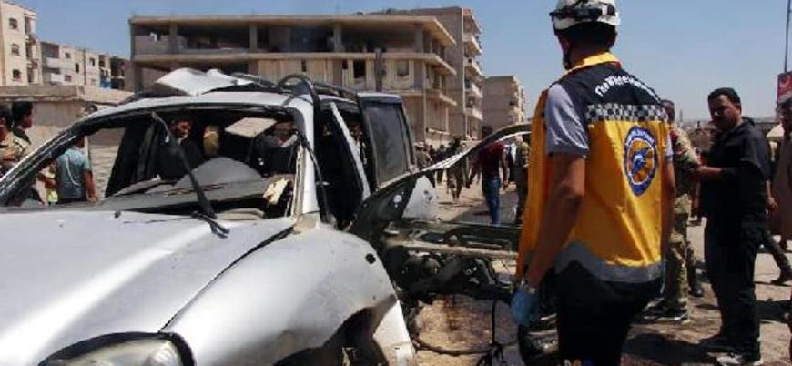 Afrin'de muhalif komutana bombalı suikast