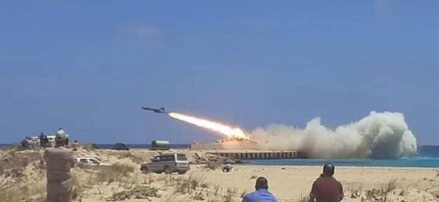 Hafter güçleri Kaddafi'den kalma füzeleri test ediyor