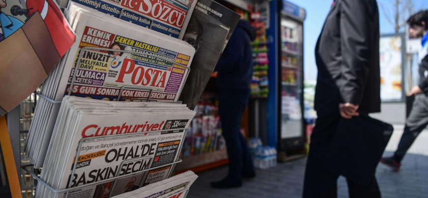 Gazete ve dergi tirajları yüzde 8 azaldı