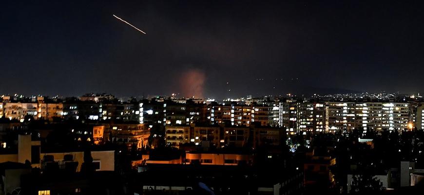 Reuters: İsrail Şam'da İran hedeflerini vurdu
