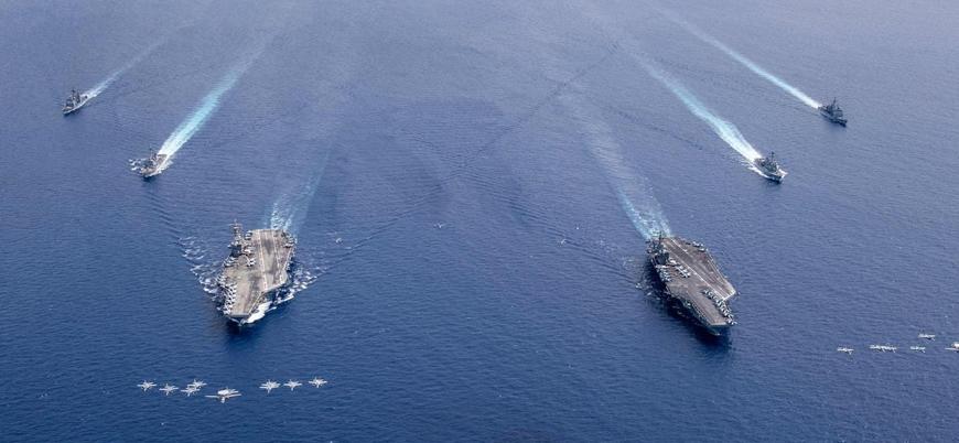 ABD ve Hindistan'dan Hint Okyanusu'nda ortak tatbikat