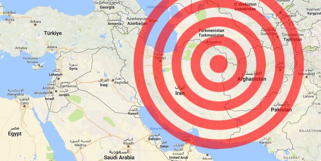İran'da 6.1 büyüklüğünde deprem