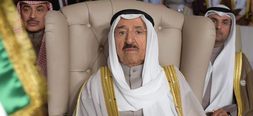 Kuveyt Emiri Es Sabah tedavi için ABD'ye gitti