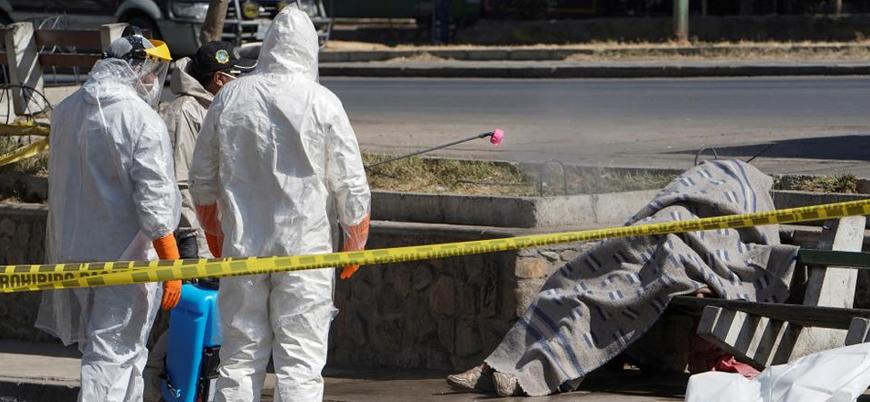 Bolivya'da beş günde sokaklardan 420 ceset toplandı