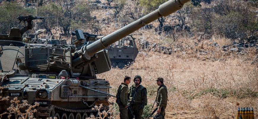 İsrail'den Lübnan sınırına asker takviyesi