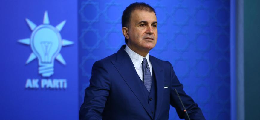 AK Parti Sözcüsü Çelik Fransa Cumhurbaşkanı Macron'un açıklamalarına tepki gösterdi