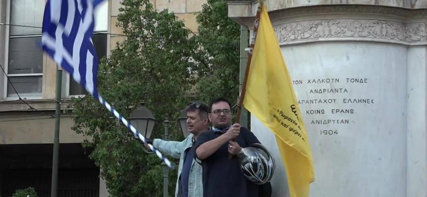Ayasofya'nın ibadete açılması Yunanistan'da protesto edildi