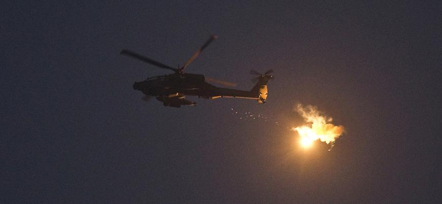 İsrail'den Esed rejimine hava saldırısı