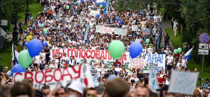 Rusya'da Putin karşıtı gösteriler devam ediyor