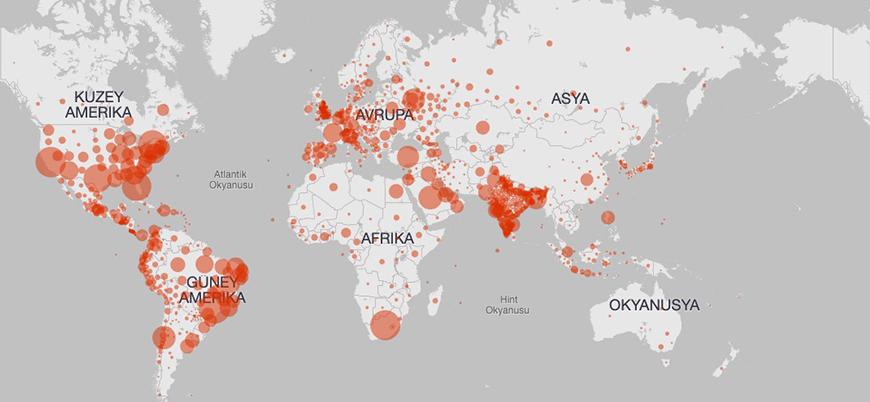 Dünya genelinde günlük vaka sayısında rekor