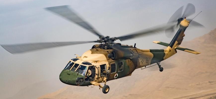 Afganistan'da yaralı askerleri taşıyan helikopter düştü