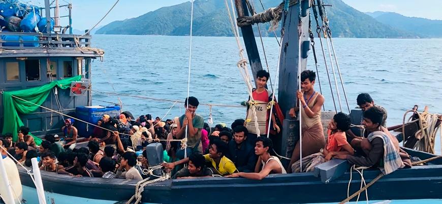 Boğulduğu sanılan Arakanlı sığınmacılar bulundu: Yüzerek adaya ulaştılar
