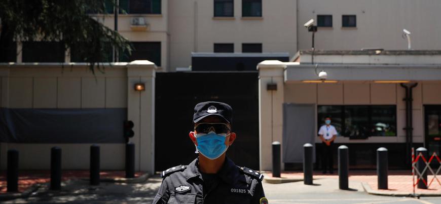 Çin ülkedeki ABD Konsolosluğu'nu kapattı