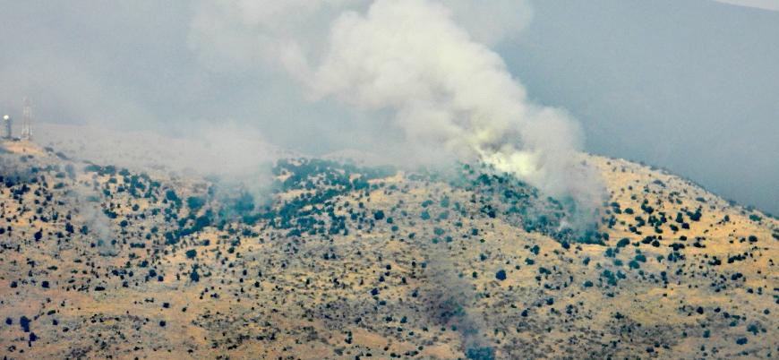 İsrail-Lübnan sınır bölgesinde çatışma